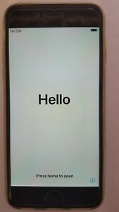iPhone 6 64gb Factory Unlocked Space Gray