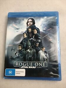 Rogue One A Star Wars Story Blu-ray Brand-New And Sealed Free Postage