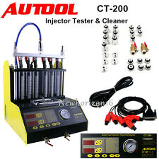 AUTOOL Auto Ultrasonic Fuel Injector Tester Cleaner for Car Motorcycle CT200
