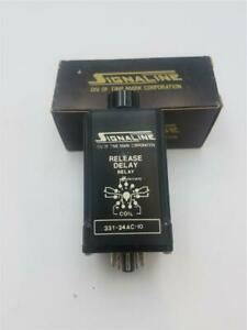 Time Mark Corporation 331-24AC-10 11 Pin Release Delay Relay