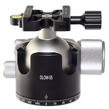 Desmond DLOW-55 55mm Low Profile Ball Head Arca / RRS Compatible w DAC-X1 Clamp