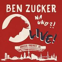 BEN ZUCKER - NA UND?! LIVE! (DELUXE EDITION)   CD+DVD NEW!