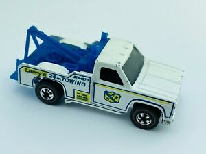 Hot Wheels Redline RAMBLIN WRECKER White Enamel Flying Colors EX/NM Nice !!