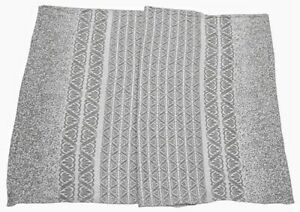 Linen Towel for Bath. Big size.Handmade.Two-Sided weaving pattern.European