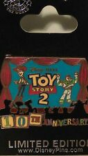 Disney Toy Story 2 10th Anniversary Woody & Buzz Pin LE 1500 HTF CUTE