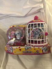 Little Live Pets TWEET TALKING TWEET HEARTS - 2 Birds w/Cage - NEW/SEALED in Box