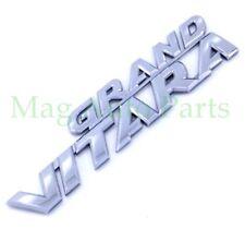 06-13 Suzuki Grand Vitara Back Door Emblem Script Nameplate Badge OEM Rear 07 08