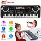 61 Key Digital Music Electronic Keyboard Kids Gift Electric Piano Organs w/ Mic photo