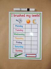 Brushing My Teeth - Reminder/Reward Chart - EYFS, Autism, ASD, Toddlers