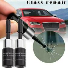 2x Automotive Glass Nano Repair Fluid Car Windshield Windscreen Chip Crack Tool