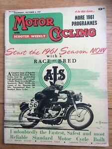 Motor Cycling Magazine Oct 6th 1960