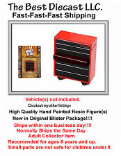 1:24th or 1:18th Hobby Gear Garage Tool Box for dioramas, Diecast model displays
