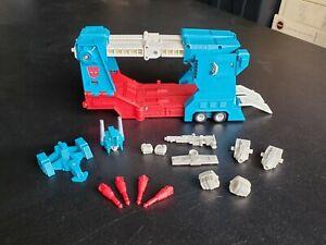 Transformers G1 Ultra Magnus Trailer 1984 Takara w/Weapons & Accessories