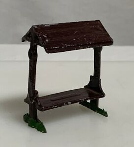 Vintage Johillco John Hill Co Bench Lead Toy Hollow Cast Figurine - 59626