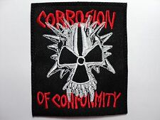 CORROSION OF CONFORMITY  EMBROIDERED PATCH