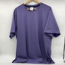 USED XL Mens Nike Dri Fit Shirt Purple