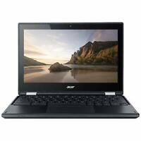 "Acer Chromebook C738T-C44Z 11.6"" Touchscreen Laptop 1.6GHz 4GB RAM 16GB SSD"