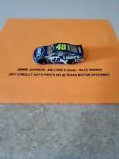 Jimmie Johnson #48 Race Winner 2017 O'Reilly Auto Parts 500 1/64 Diecast