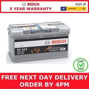 Bosch S5A13 Car Battery 12V AGM Start Stop 5 Yr Warranty Type 019
