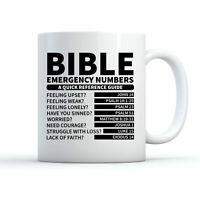 Bible Mug Bible Coffee Mug Christian Mug • Funny Christian Gift Priest Mug Bible