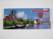 Regensburg, 3D großer Holz Magnet,Souvenir Germany Deutschland