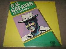 R.B. GREAVES Rock and Roll RARE SEALED New Vinyl LP 1982 QS-5032 NoCutOut Soul