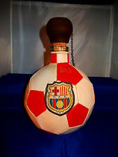 bouteille de collection ballon  de foot barcelone