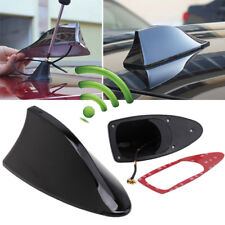 Black Universal Car Truck SUV Roof Radio Signal Shark Fin Style Aerial Antenna