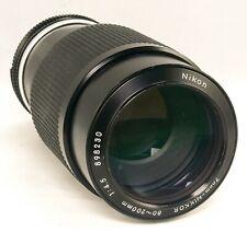 NIKON  NIKKOR Ai 80-200mm f4.5