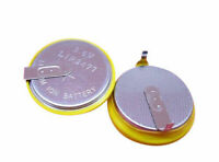 1 x New Rechargeable Tabbed 3.6V LIR2477 Battery Cell Coin Button 2 Solder tabs
