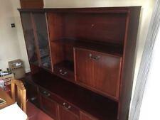 Less than 60cm High Mahogany Display Cabinets