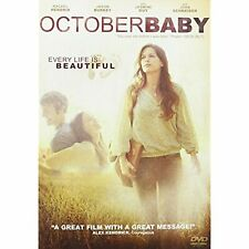 October Baby: Every Life is Beautiful (Dvd, 2012, Widescreen) New