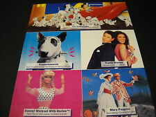BARBIE Frankenweenie MARY POPPINS 101 Dalmations PRETTY WOMAN 1992 Promo Ad