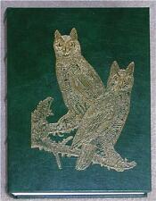 AUDUBON's BIRDS OF AMERICA ~ EASTON LEATHER ~ BABY ELEPHANT FOLIO ~ HUGE GIFT BK