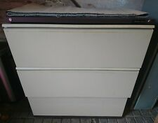 3 Drawer Lateral Filing cabinet c/w trays Office Storage Tool Cupboard Cabinet