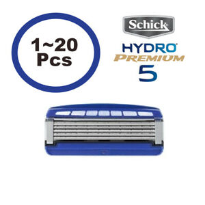 Schick Hydro 5 PREMIUM Razor Blades Refill Cartridges 1PCS ~ 20PCS