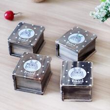 Vintage Miyazaki Totoro Wooden Clockwork Music Box Creative Birthday Xmas Gift
