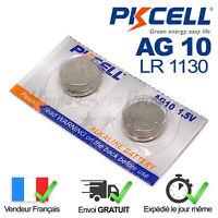2 PILES LR1130 / AG10 / LR54 / 1,5V / ENVOI RAPIDE Piles Bouton Montre, Jouet