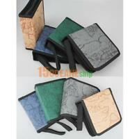 40CD DVD Disc Storage Holder Carry Case Organizer Sleeve Wallet Cover Bag Box