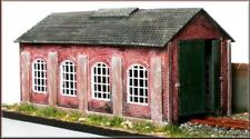 OO gauge Single road engine shed - Knight Wing - PM112 - free post
