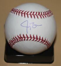 Jay Bruce Signed Autographed Official Baseball ROMLB MLB Authentic Reds Indians