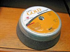 "5 Carbo GOLD Snagging Cup Wheels 4"" x 2"" x 5/8""-11  CGA16-QB5"