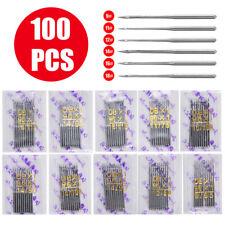 100pcs Dbx1 Industrial Sewing Machine Needles Kit For Juki Singer Brother Us