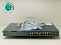 Cisco WS-C2960X-24TS-L • 24 Port 2960X Gigabit Ethernet Switch ■1 YEAR WARRANTY■
