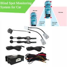 1 Set Car Blind Spot Monitoring System BSM With 2x Ultrasonic Sensor Waterproof