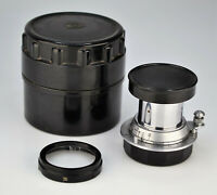 RUSSIAN USSR INDUSTAR-22 TUBE COLLAPSIBLE RANGEFINDER LENS f3.5/50 M39 mount (7)