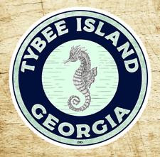 "3"" Tybee Island Georgia Decal Sticker Atlantic Ocean Savannah"