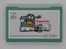 Nintendo Game & Watch de mano * aplastar * rara Consola Retro MG-61