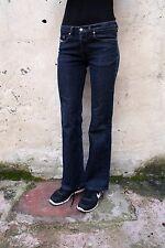 Diesel Daze Womens Dark Blue Bootcut Jeans W27 L31 Uk 10 Stretch Fit MADE ITALY