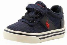 Polo Ralph Lauren Toddler Boy's Hanford EZ Navy Canvas Fashion Sneaker Shoes
